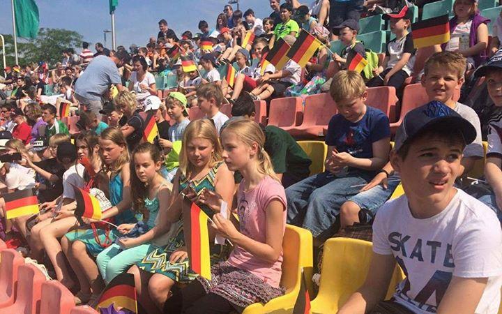 Die Waldgrundschüler im Fußballfieber  Wie Fieber muss sich die gestrige Hitze f…