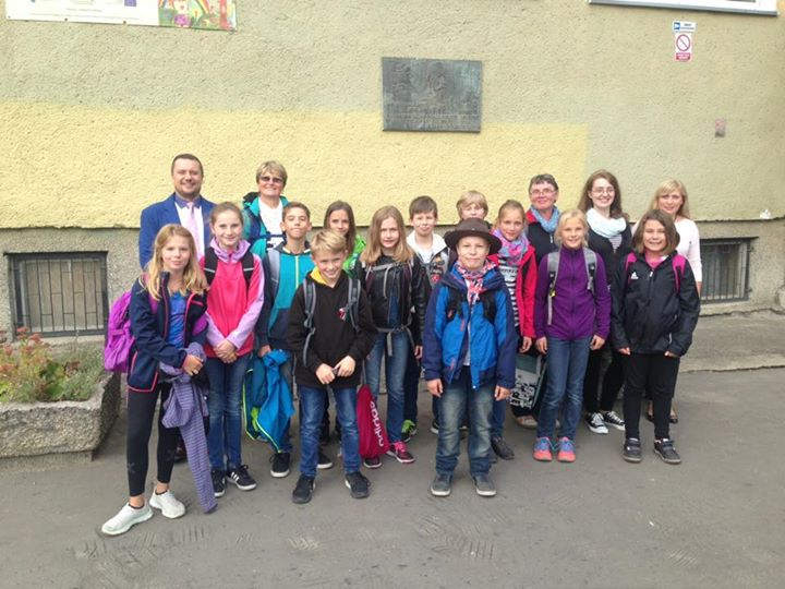 Heute sind wir mit zwölf Schülern bei unserer Partnerschule in Gorzow/Polen. Lie…
