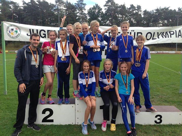 G R A N D I O S ! Unsere Mädels haben im Regionalfinale Leichtathletik nur ganz …