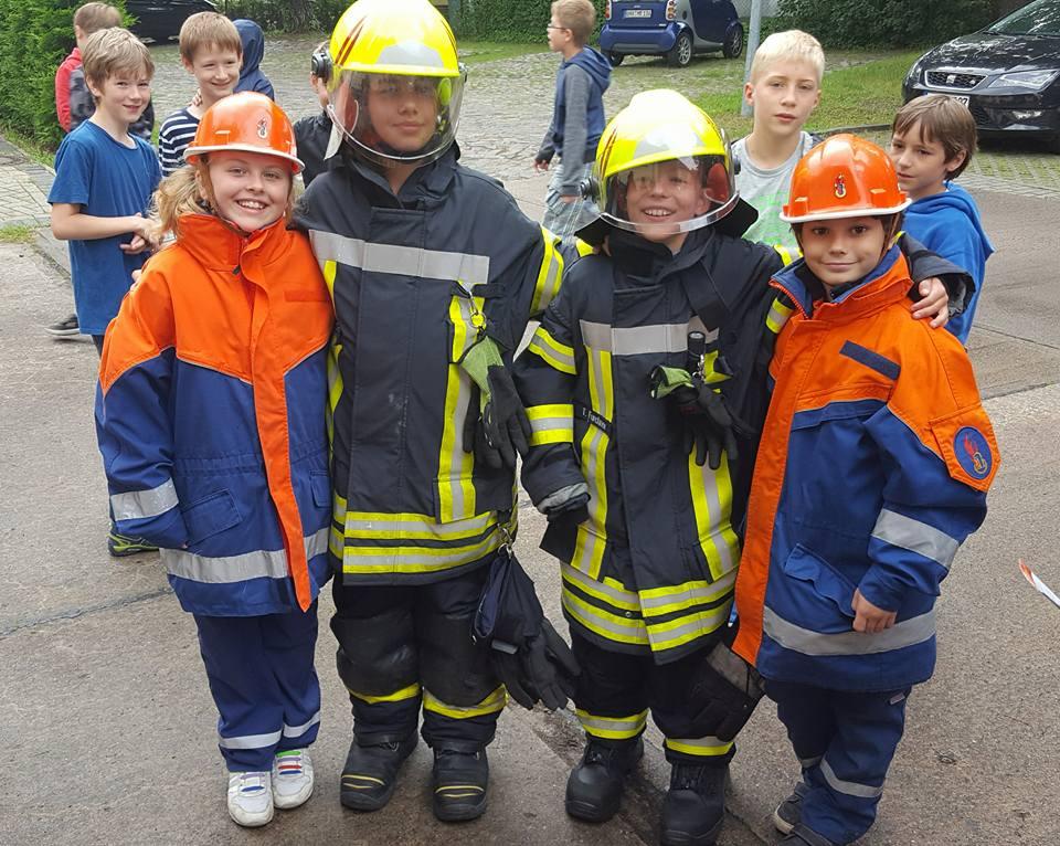 Besuch bei der Feuerwehr