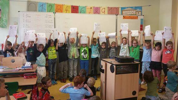 Spannende Matheduelle der Klassen 1c und 1d