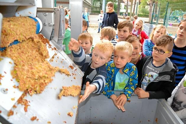 Wo Apfelsaft in Strömen fließt – MOZ.de