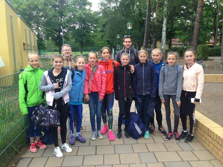 Unsere Mädels auf dem Weg zum Regionalfinale Leichtathletik in Wittenberge. Wir …