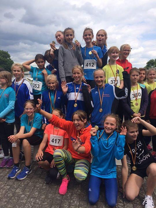 Unsere Mädchen sind heute Leichtathletik-Regionalsieger  geworden.  In  vier von…