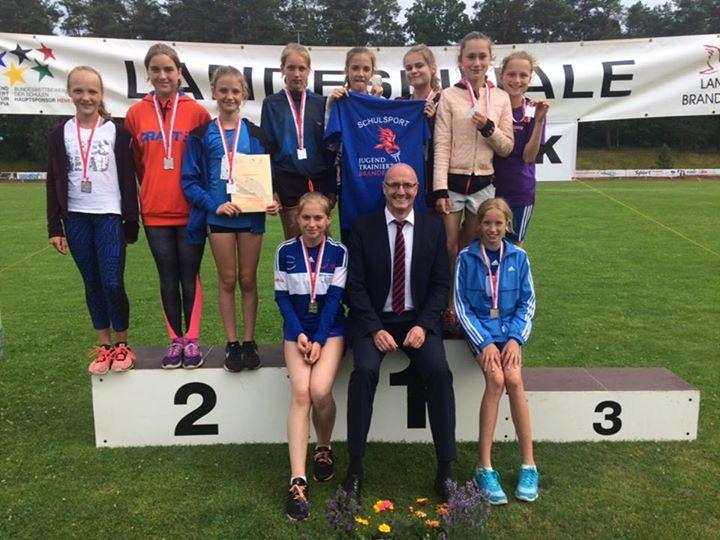 Grandios! Unsere Mädels sind heute Leichtathletik-Vize-Landesmeister geworden. D…