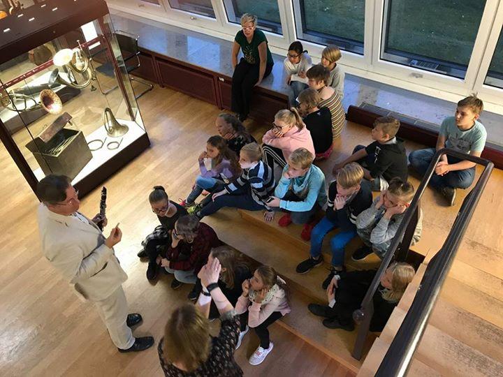 Besuch im Musikinstrumentenmuseum