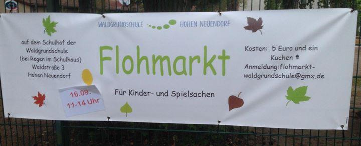 Flohmarkt des Fördervereins