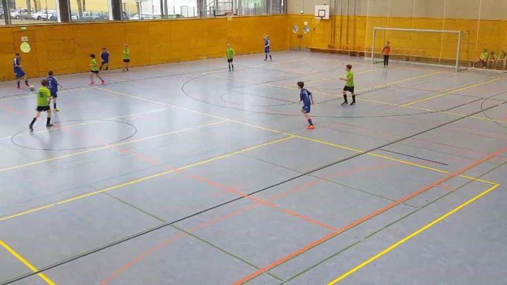 Fußballfieber in der Stadthalle