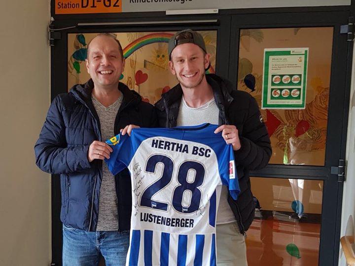 Danke an Fabian Lustenberger und Hertha BSC für die tolle Unterstützung! Ihr sei…