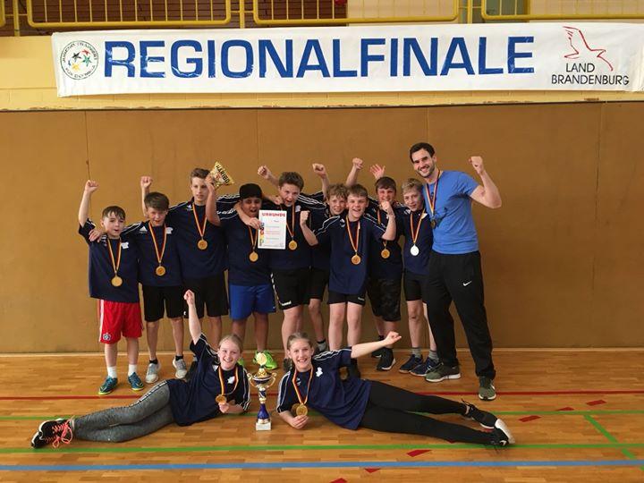 Zweifelderball: Regionalsieger!!!