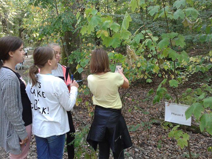 Waldtag der 6. Klassen in Stolpe  Am 19.09.18 führten die vier 6. Klassen ihren …