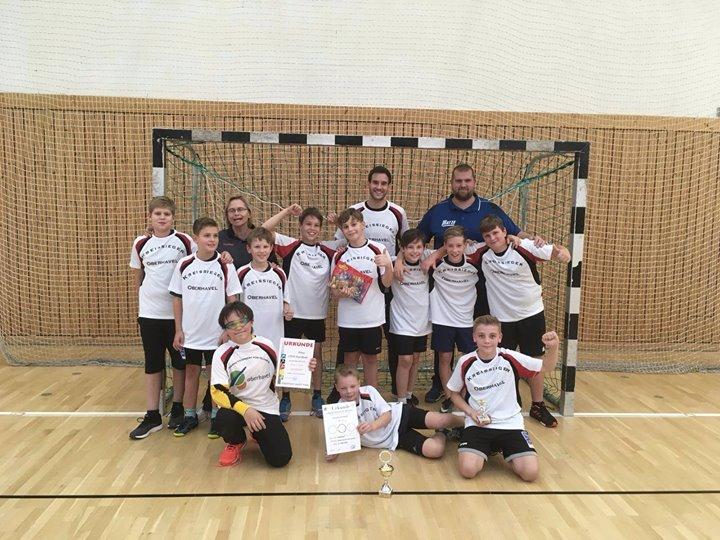 Echt eine starke Leistung! Heute wurden wir im Handball Kreissieger. Im Halbfina…