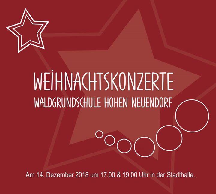 Weihnachtskonzerte  Auch in dieses Jahr lassen wir die Weihnachtszeit in der Sta…
