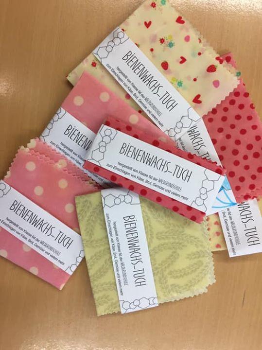 Bienenwachs-Tücher & Lippenbalsam Im Rahmen einer Unterrichtsreihe 'Plastikmüll …