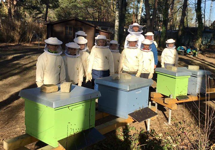 Unseren Bienen geht es gut!Hurra, heute ging es Dank schönstem Vorfrühlingswette…