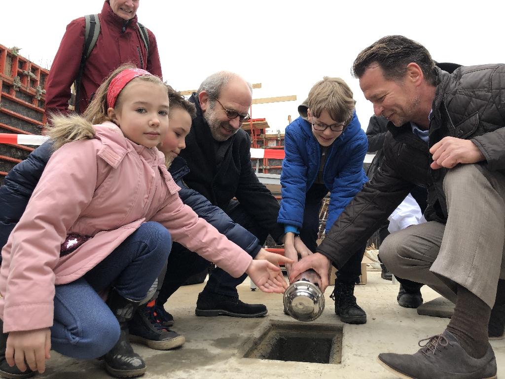 Acht Millionen Euro für mehr Platz in der Waldgrundschule