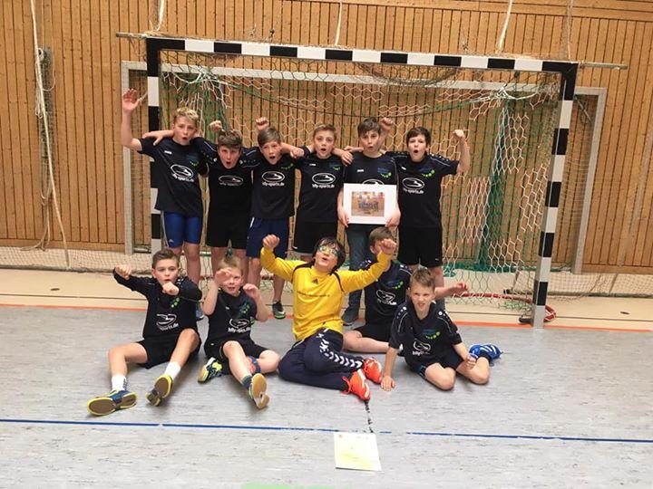 Landesfinale Handball  Zum ersten Mal qualifizierte sich eine Handballmannschaft…
